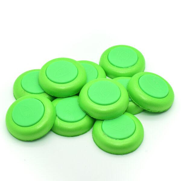 Schijfjes voor Nerf vortex blasters groen