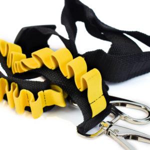 Schouderband riem voor Nerf pijltjes geel