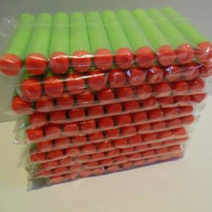 Groene nerf pijltjes