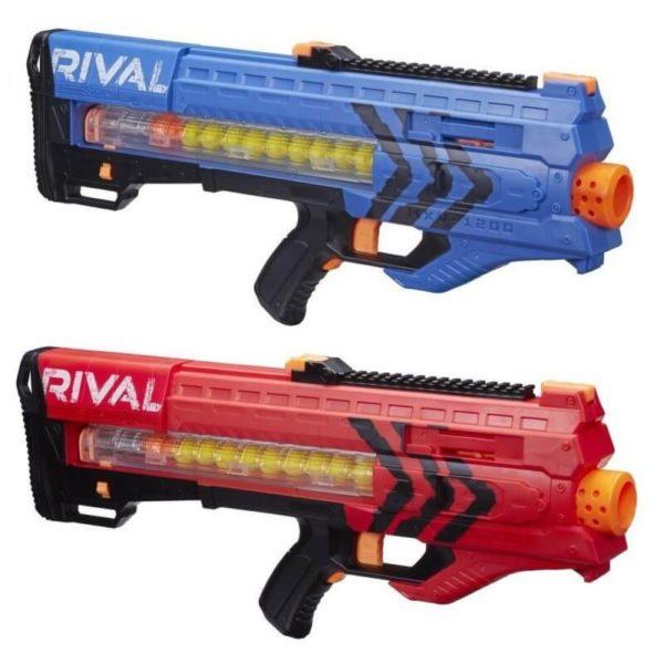 NERF Rival Zeus MXV-1200 blauw + rood