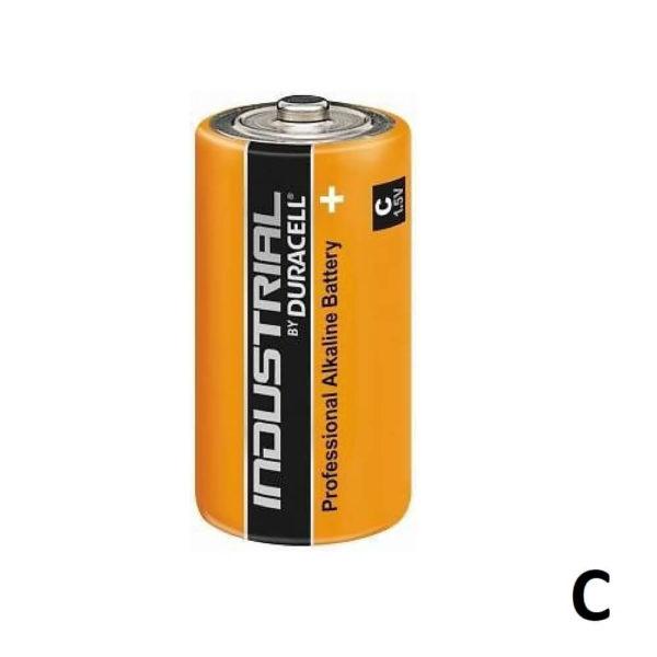 Duracell Industrial Alkaline batterij C-formaat