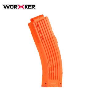 Worker magazijn voor 15 pijltjes oranje