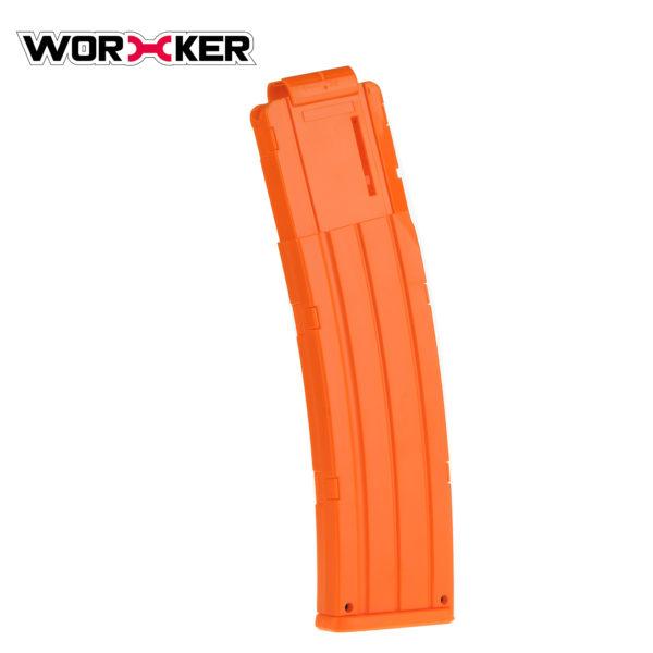 Worker magazijn voor 22 pijltjes oranje