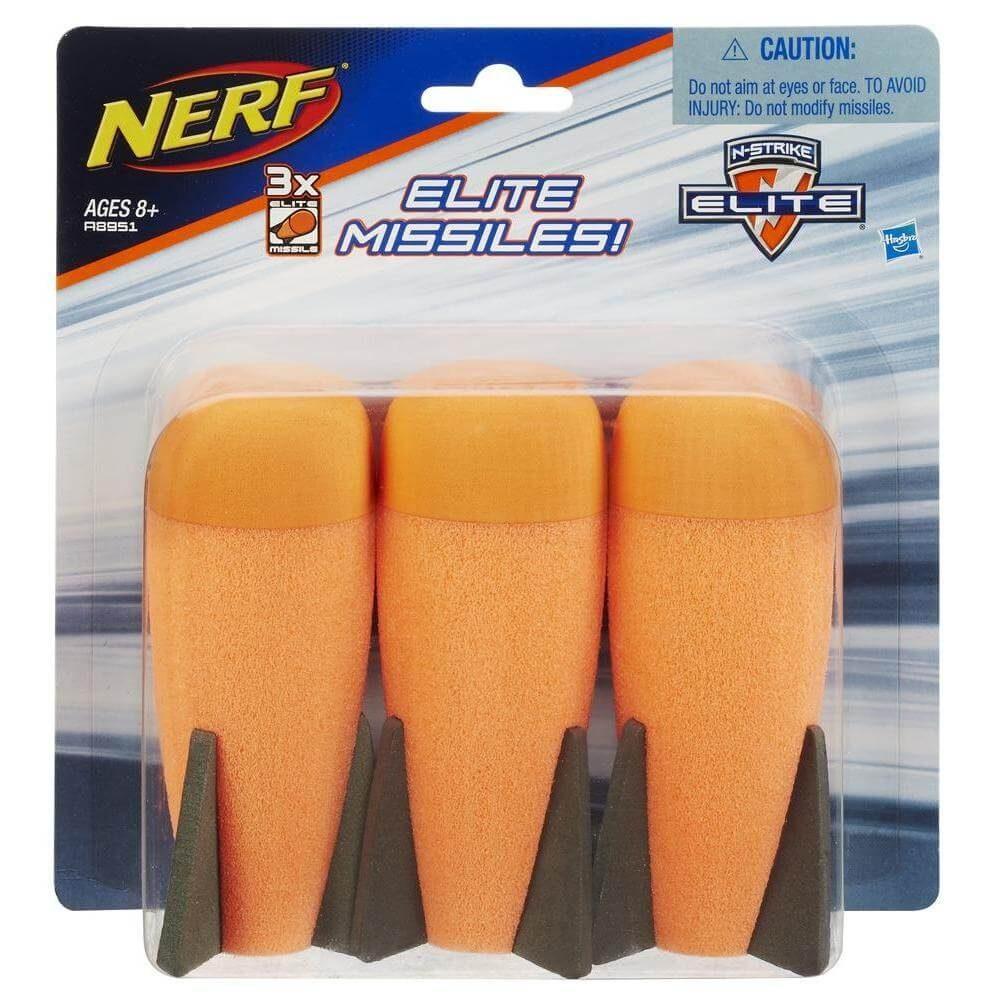 NERF N-Strike Elite Missile Refill - 3 stuks