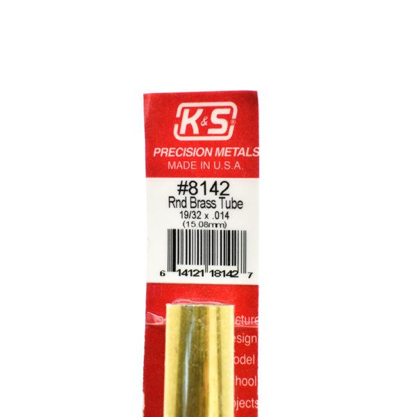 K&S Messing Brass buis voor Nerf