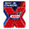 Zuru X-Shot Dart Ball Blaster Pistool Balletjes Chaos 100 Refill Verpakking