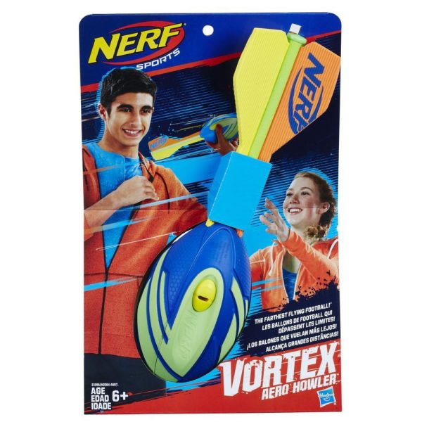 NERF Sports Vortex Aero Howler Blauw-Groen