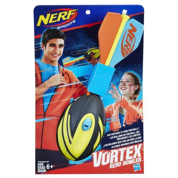 NERF Sports Vortex Aero Howler Zwart-Geel
