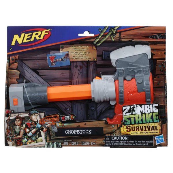 NERF Zombie Strike Survival System Chopstock