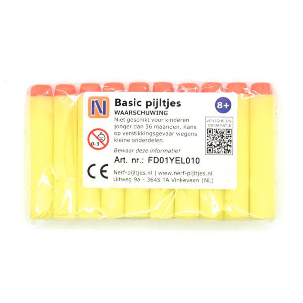 Nerf-pijltjes.nl - Basic - geel