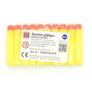 Nerf-pijltjes.nl - Zacht - geel