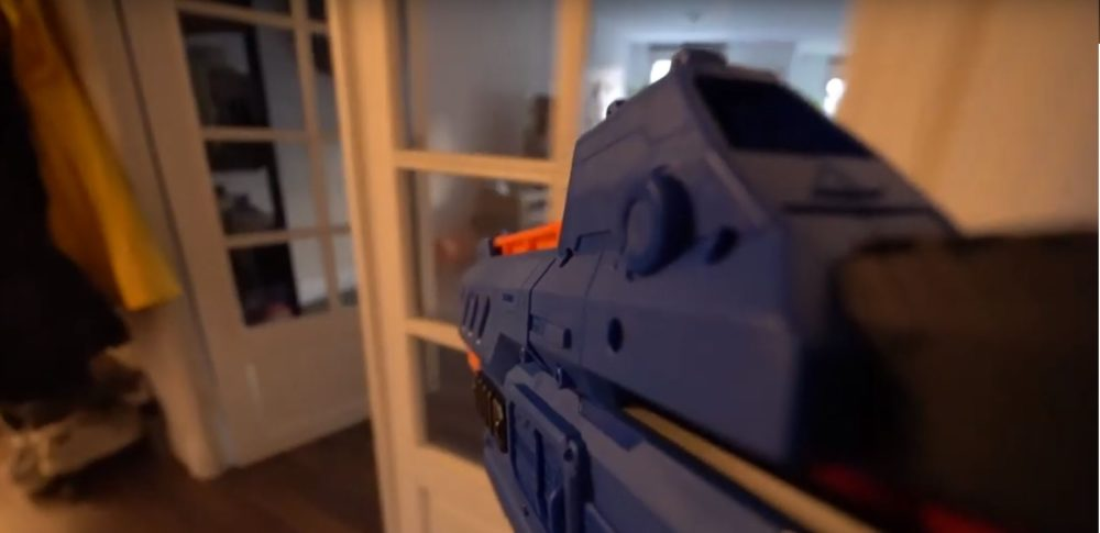 Enzo Knol Nerf Blaster Geweer X-Shot Nerf battle gevecht
