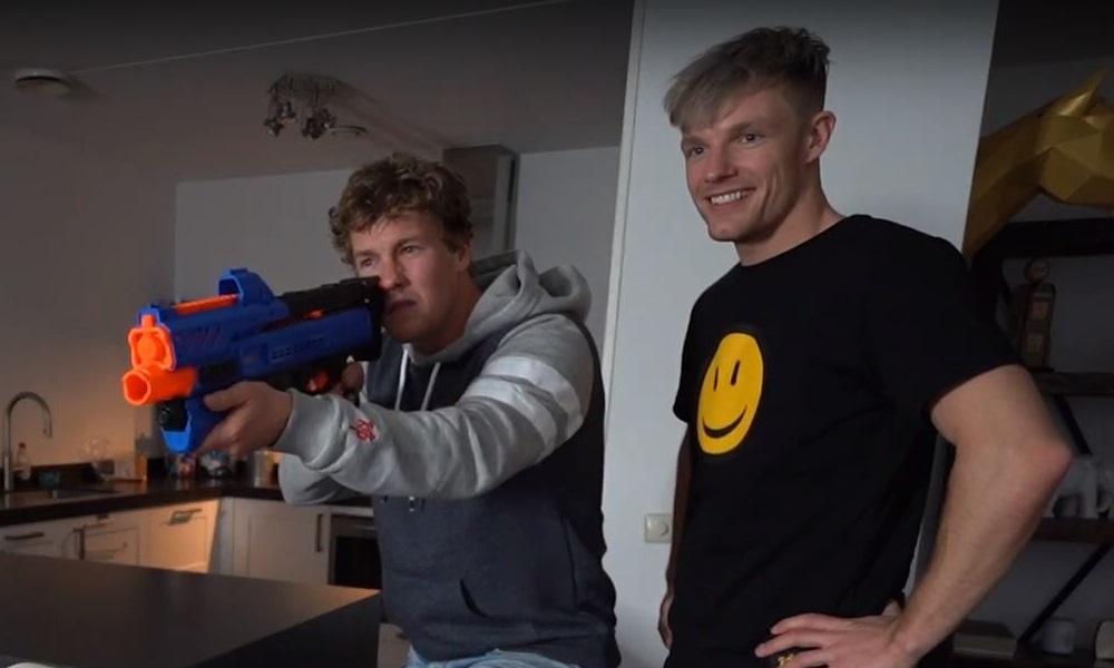 Enzo Knol Nerf Blaster Geweer X-Shot Target Shooting
