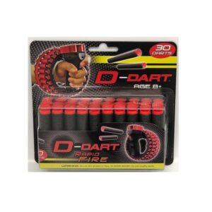 D-Dart Zuignap Pijltjes Refill - 30 Pijltjes tijdelijk
