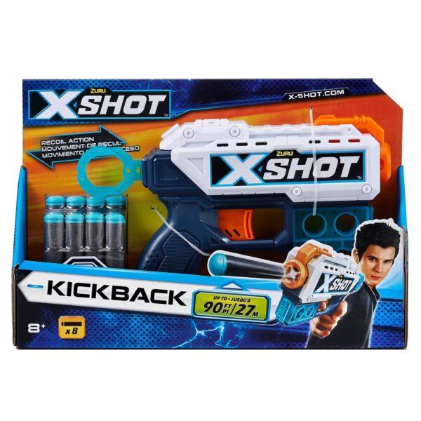 Zuru X-Shot Kickback Recoil