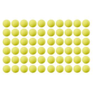 NERF Rival Refill geel - 60 Balletjes