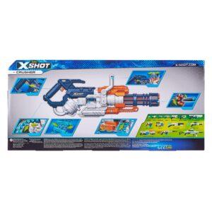 X-Shot Crusher Blaster met Pijltjesriem