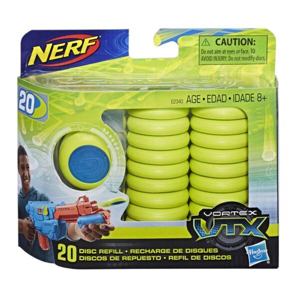 NERF Vortex VTX Refill - 20 Vortex Schijfjes