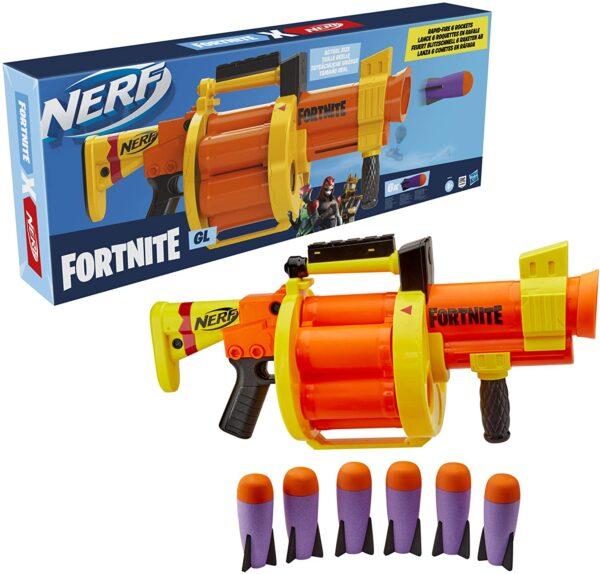 NERF Fornite GL Rocket Raket Blaster