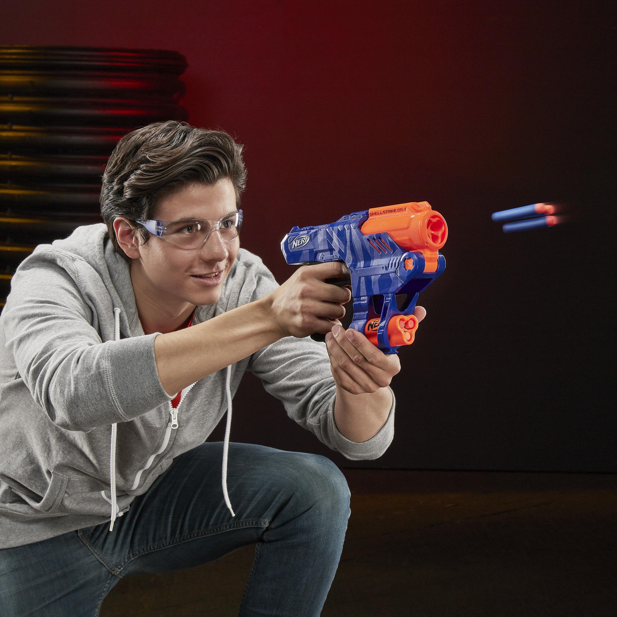NERF N-Strike Elite Shellstrike DS-6 - nerf-pijltjes.nl