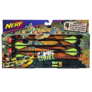 NERF Zombie Strike Arrow Refill - 4 pijlen