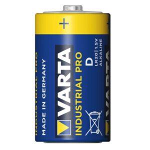 Varta Industrial Pro Alkaline D batterij