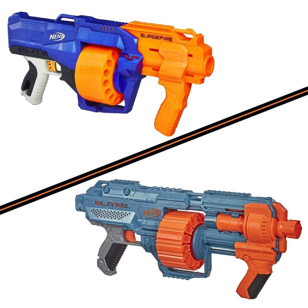 NERF Elite vs NERF Elite 2.0
