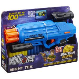 BuzzBee Air Warriors Night Tek - Blauw