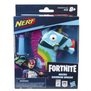 NERF MicroShots Fortnite Rainbow Smash