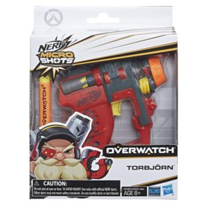 NERF MicroShots Overwatch Torbjörn