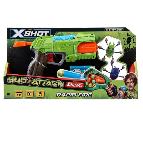 X-shot Bug Attack Rapid Fire