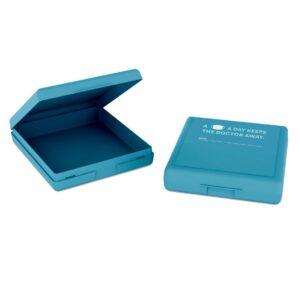 Bewaardoosje voor mondkapje - blauw