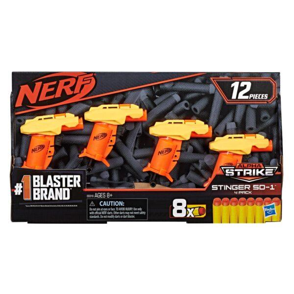 NERF Alpha Strike Stinger SD-1 Blaster - 4 Pack