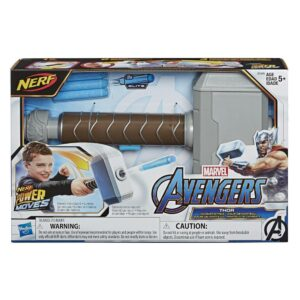 NERF Power Moves Marvel Avengers Thor Hamer