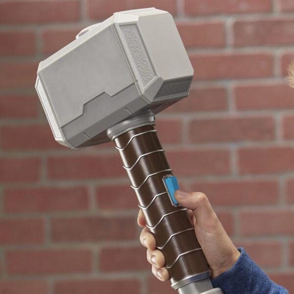 NERF Power Moves Marvel Avengers Thor Hamer