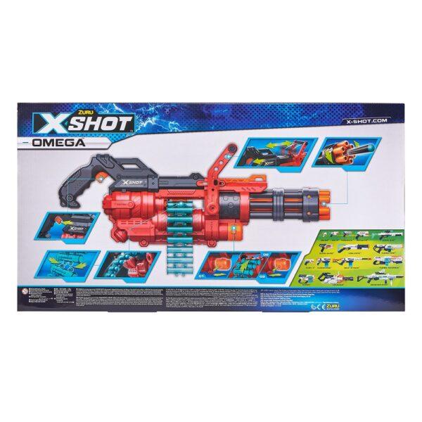X-Shot Omega Blaster met Pijltjesriem