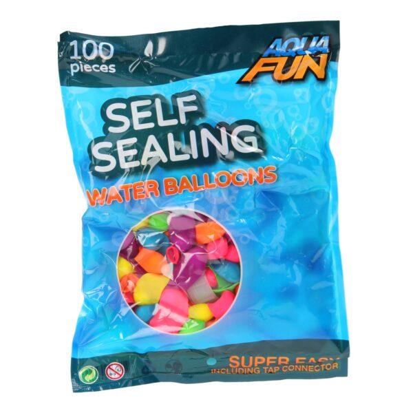 Aqua Fun Self Sealing Waterballoons - 100