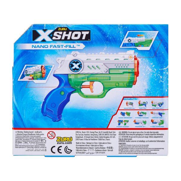 X-Shot Nano Fast-Fill Water Blaster