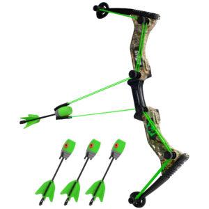Zing HyperStrike Boog - Camouflage Groen
