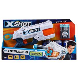 Zuru X-Shot Reflex 6 Blaster met Pijltjes